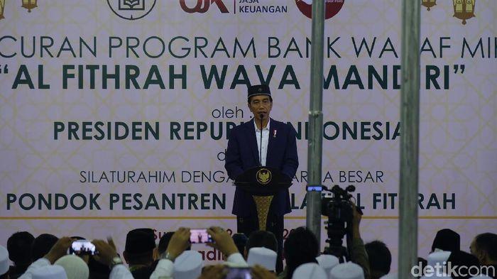Jokowi Targetkan 40 Bank Wakaf di Indonesia